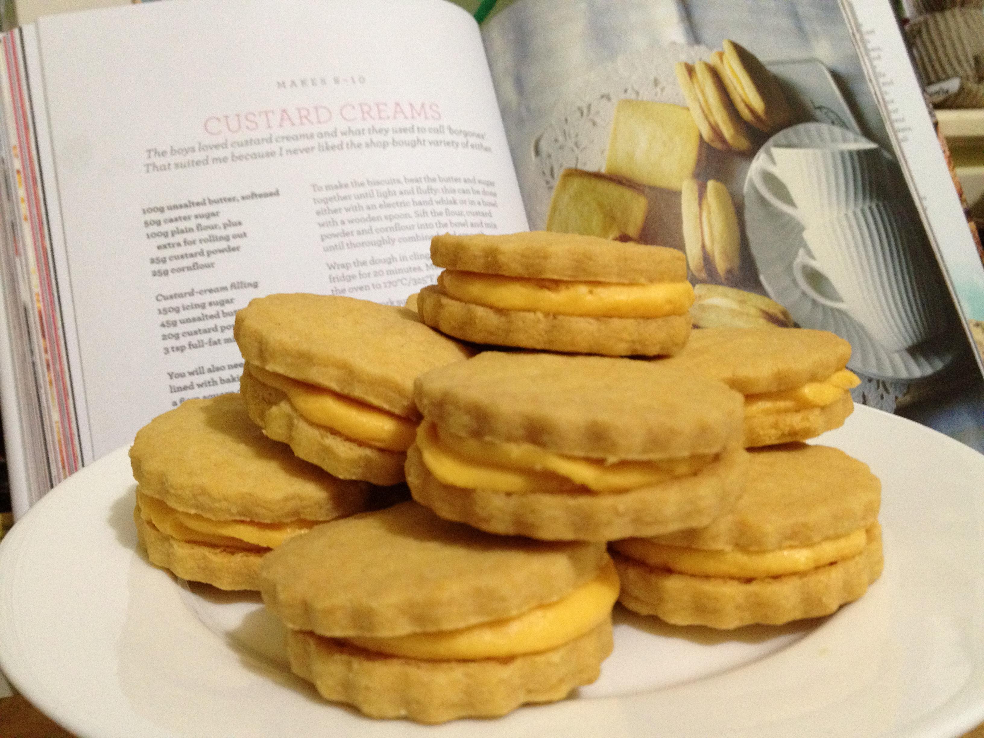 Biscuit custard cream: recipe, photo 8