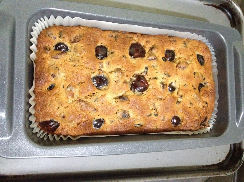 My first ever tea loaf!