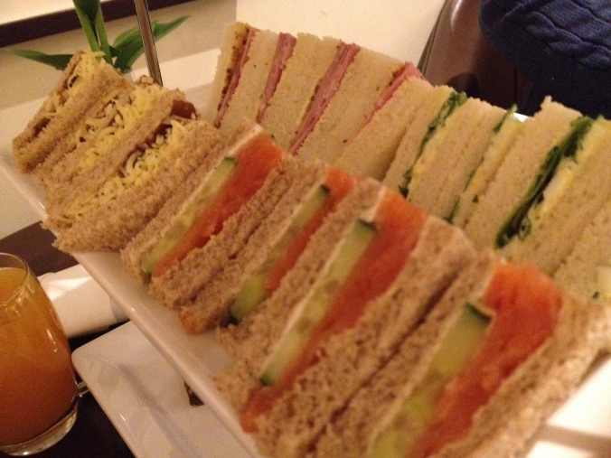 Sandwiches - Afternoon Tea at The Cavendish