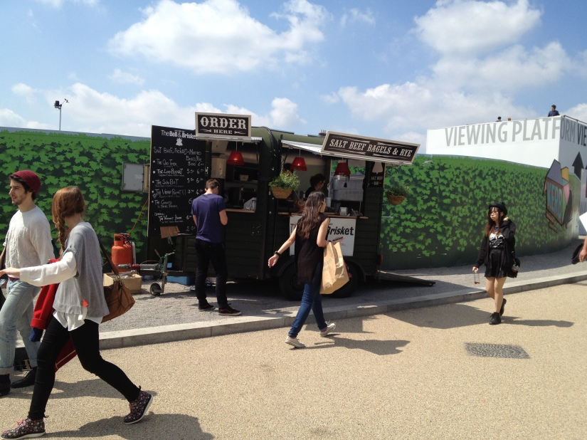 The Bell and Brisket at KERB