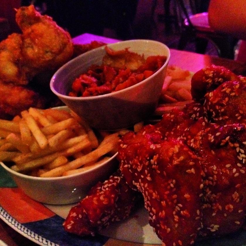 Jubo chicken platter