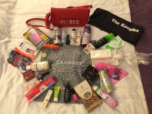 Carnaby goody bag