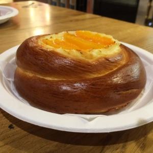 Peach vatrushka