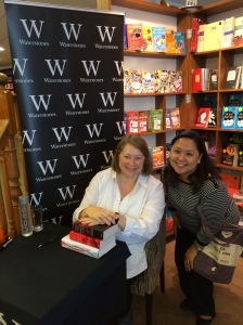 Me and Deborah Harkness