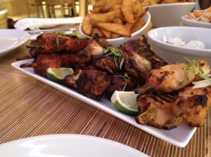 Gallus chicken skewers