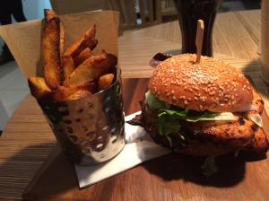 Gallus chicken burger