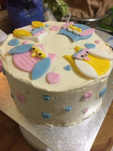 My owl cake