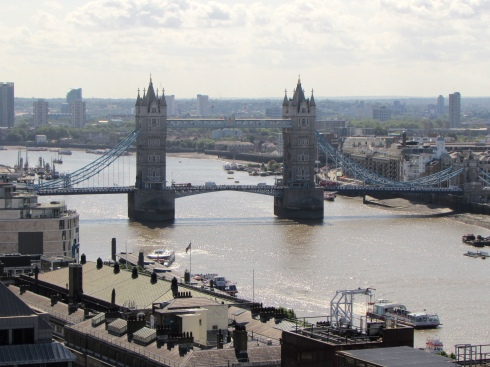 The Tower Bridge and the Thames