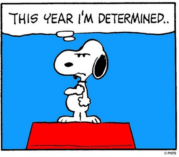Snoopy determined