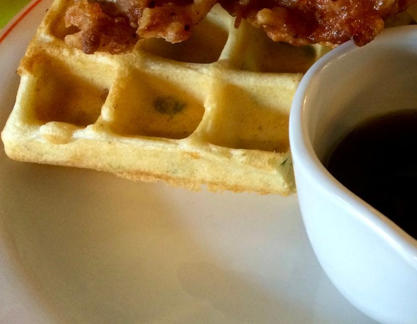 Bird waffles