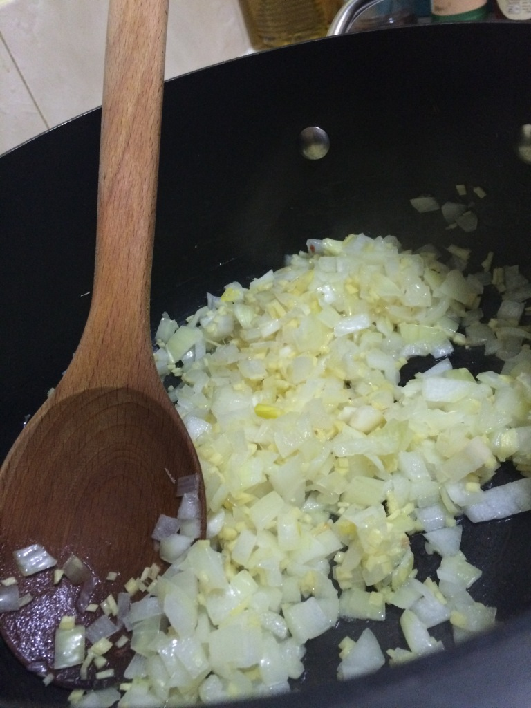 Ginger and onions