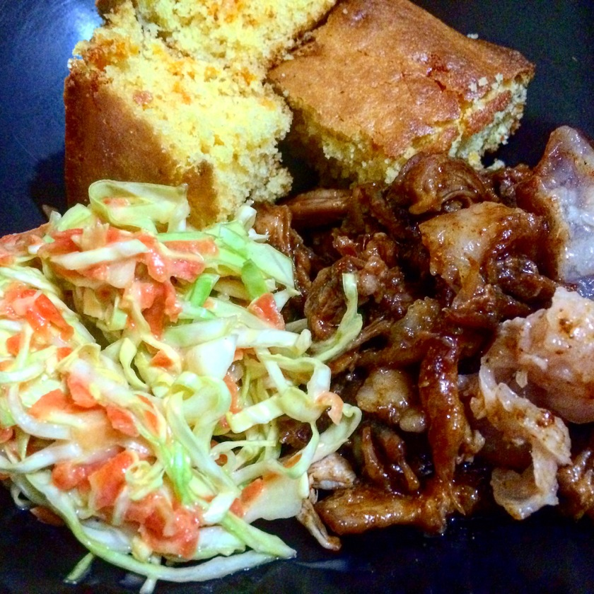 Pulled pork, southern style