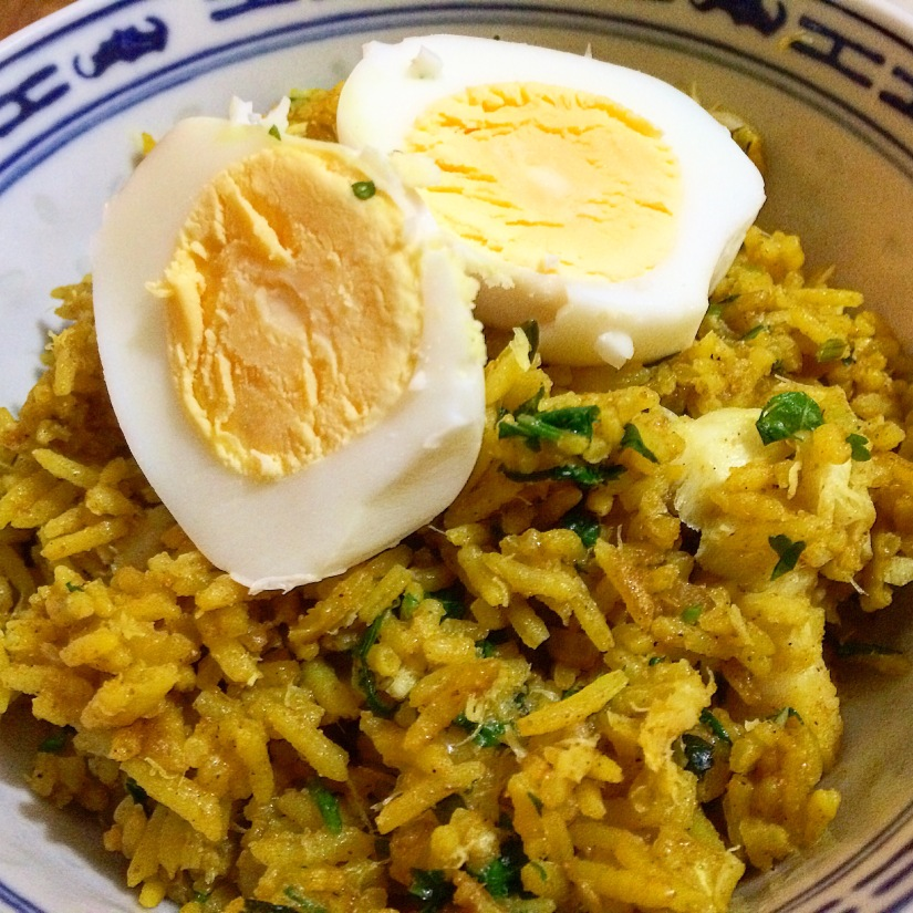 Kedgeree my way