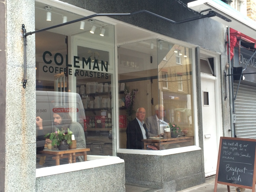 Coleman Coffee Roasters front