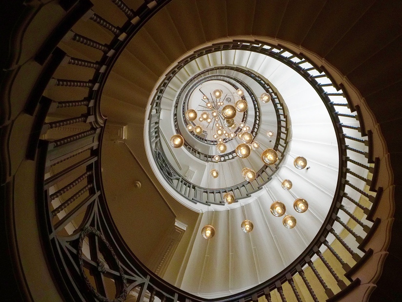 The Cecil Brewer Staircase, Heal's London