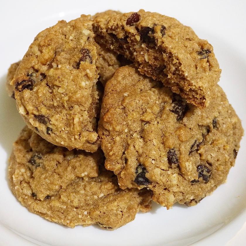 Fruitcake oatmeal cookies