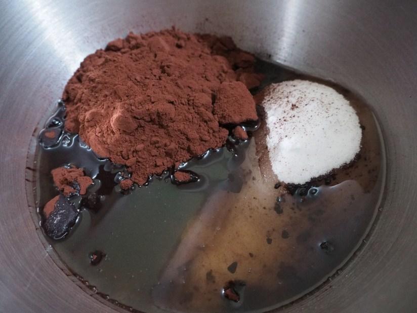 Chocolate mixture