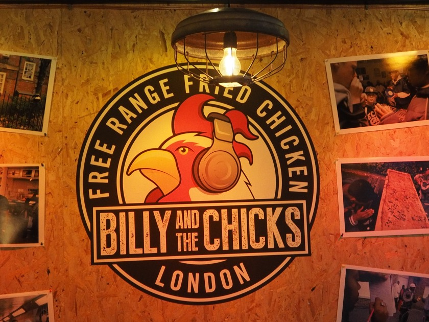 Billy and the Chicks, London
